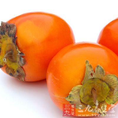 """柿子果肉香甜,号称是""""最甜的金果子"""""""