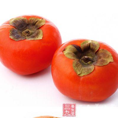在非空腹的情况下,每次吃柿子1个左右为宜