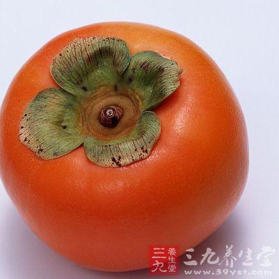 柿子富含果胶,它是一种水溶性的膳食纤维,有良好的润肠通便作用