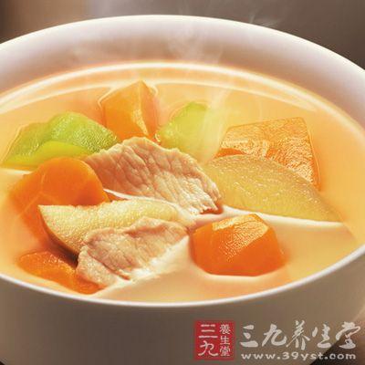 苹果排骨汤有滋补美容的功效