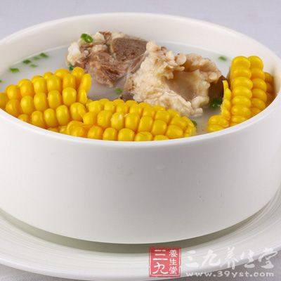 苹果玉米汤,在减低食欲上效果很好