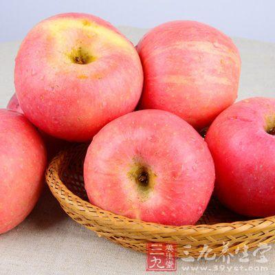 苹果能治脾虚火盛,补中益气