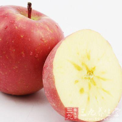 苹果中含的钙质和维生素E,具有利尿美容的功效,可以有助于防止老