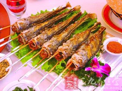 阿胶烤鱼的做法