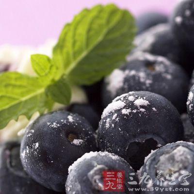 蓝莓中含有的营养物质对中早期癌症都具有抑制作用