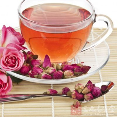 洋参玫瑰茶