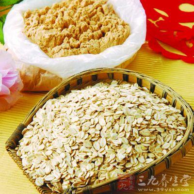 燕麦中含有丰富的维生素B1、B2、E、叶酸等