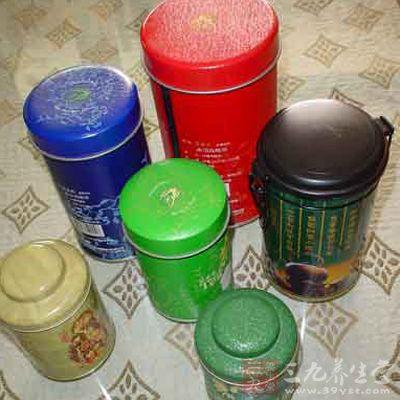 铁罐的储藏法