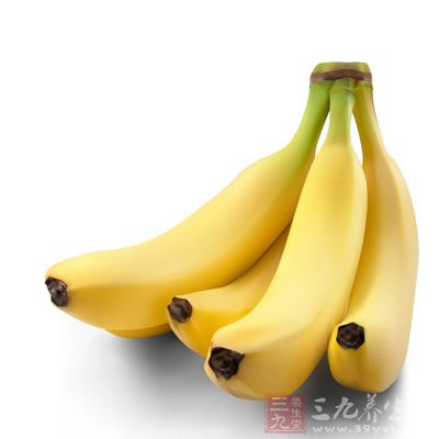 香蕉可以补足身体迅速流失的能量