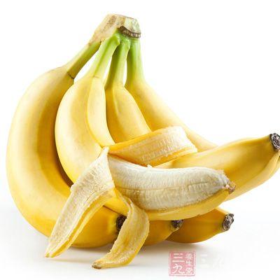 香蕉能够促进胃肠的蠕动