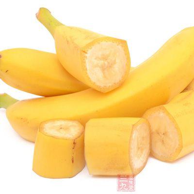 香蕉中含有较多的镁元素