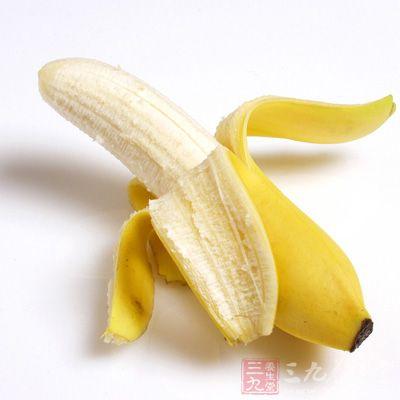香蕉中钾的含量也很丰富