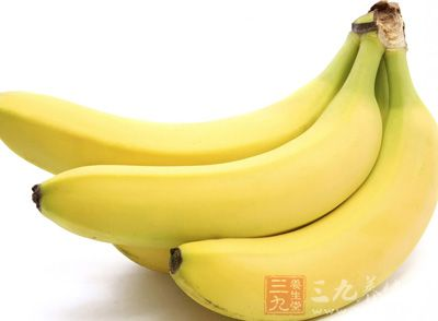 香蕉中有很多的营养物质