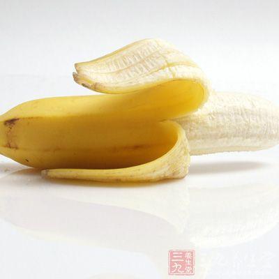 早餐只吃香蕉