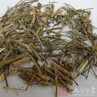 马鞭草对杀灭疟原虫有一定作用