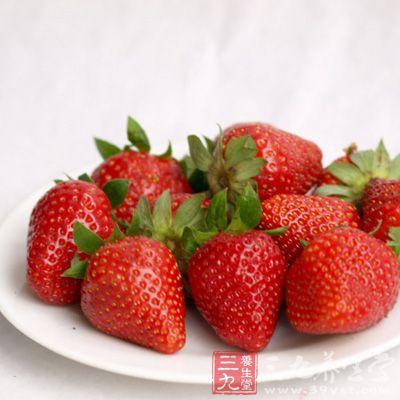 草莓不仅含有丰富的维生素和矿物质,膳食纤维也很高
