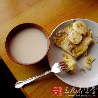 香蕉豆浆饮用要领