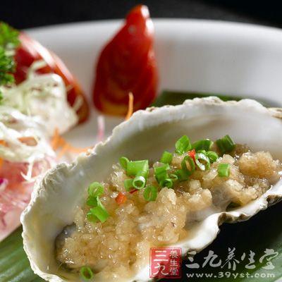 牡蛎中所含丰富的牛黄酸有明显的保肝利胆作用