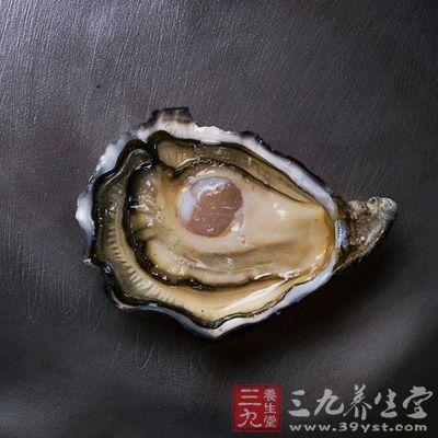 牡蛎咸寒质重,入肝经,有平肝潜阳,益阴之功