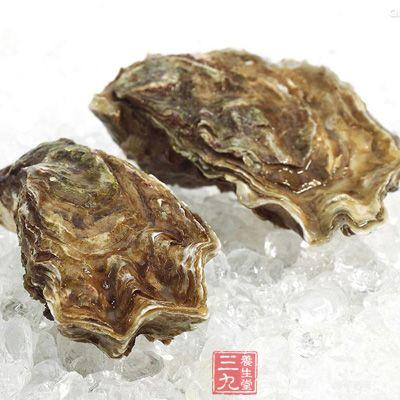 牡蛎味微咸微涩,性平,无毒,入肝、肾经