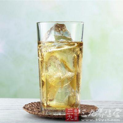 柠檬水具有利尿作用