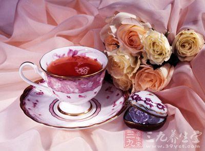 玫瑰花茶为中国再加工茶类中花茶的一种