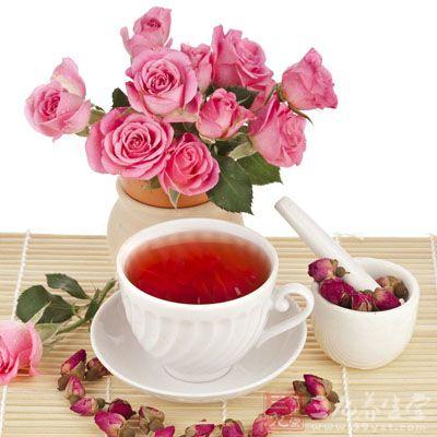 玫瑰花最好不要与茶叶泡在一起喝