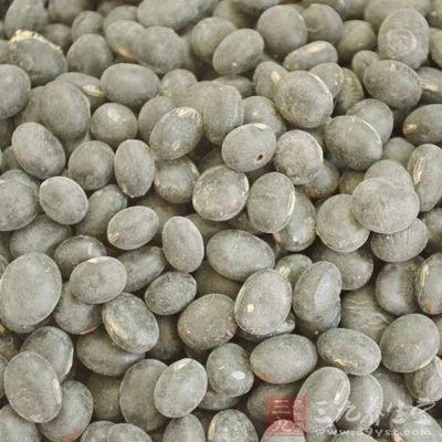 生发偏方3:生发黑豆