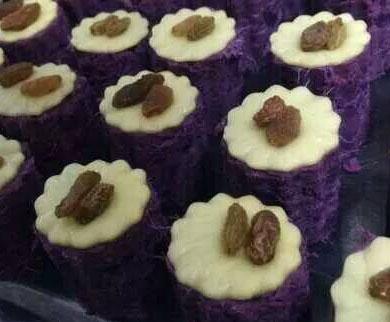 芝士焗紫薯的做法,芝士焗紫薯怎么做简单好吃