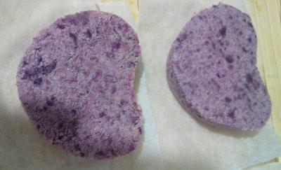 紫薯松糕的做法,简单好吃的紫薯松糕怎么做