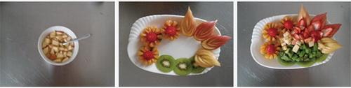 水果沙拉拼盘步骤7-9