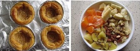 水果沙拉挞步骤3-4
