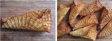 脆皮水果沙拉卷步骤9-10