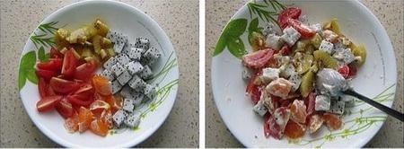 脆皮水果沙拉卷步骤13-14