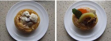 水果沙拉挞步骤7-8