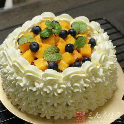 百香果戚风蛋糕西番莲蛋糕的详细做法介绍
