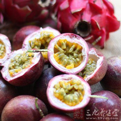 食用百香果可以增加胃部饱腹感,减少余热量的摄入