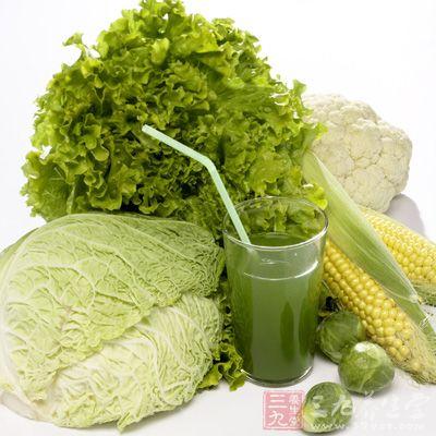 多吃绿色食物