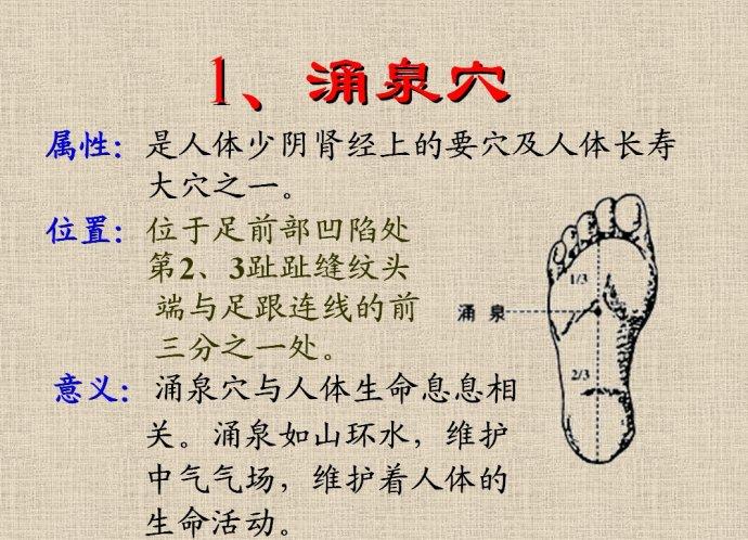 长寿穴位在哪里,人体六大长寿穴位养生方法介绍