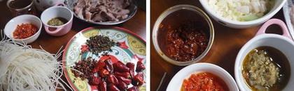 香辣炝锅猪舌片的做法步骤1-2