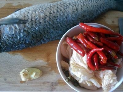 四川酸菜鱼步骤1