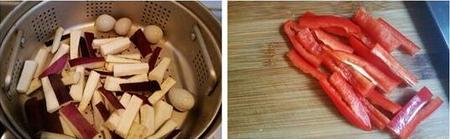 茄条拌鹌鹑皮蛋的做法步骤2