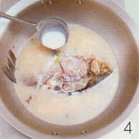 香菇鲫鱼汤的做法步骤4