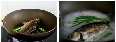 萝卜丝鲫鱼汤的做法步骤4-5