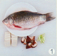 香菇鲫鱼汤的做法步骤1