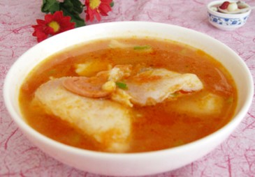 适合孕妇的番茄鱼片汤做法