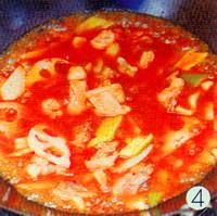 蔬菜鸡肉汤的做法步骤4