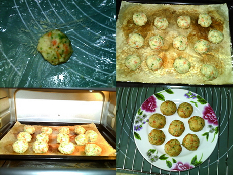 香烤土豆丸子的做法步骤3