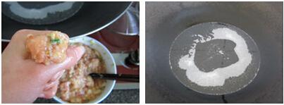 干炸肉丸子步骤5