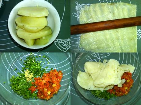香烤土豆丸子的做法步骤1